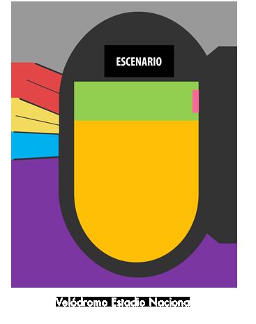 Mapa Maluma Santiago - Entradas 2018