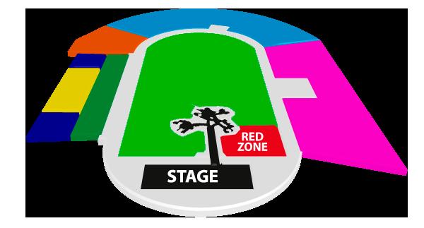 Mapa U2 Estadio Nacional - Entradas 2017