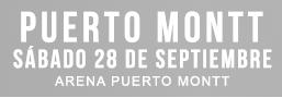 Camila Gallardo - Rosa, La Despedida | Arena Puerto Montt