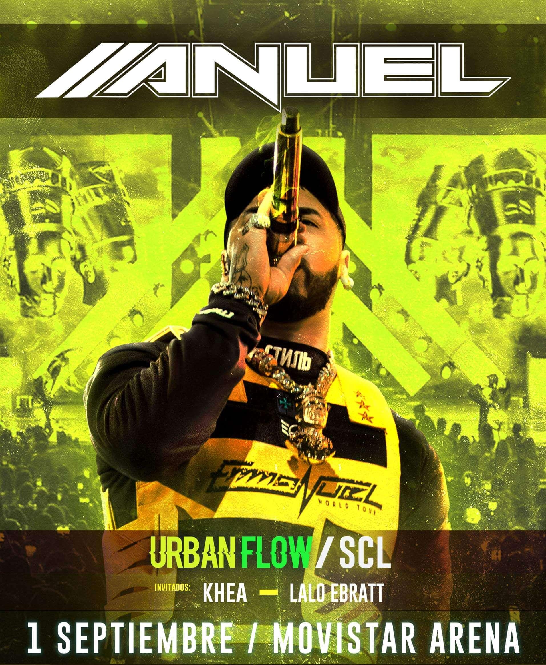 Anuel | Urban Flow SCL
