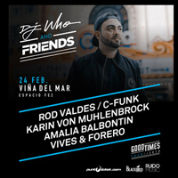 DJ Who & Friends Espacio Fez - Viña del Mar