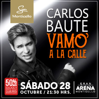 Carlos Baute Gran Arena Monticello - San Francisco de Mostazal