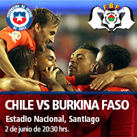 Chile vs. Burkina Faso Estadio Nacional - Santiago