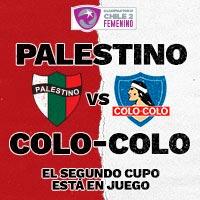 Palestino Femenino vs. Colo-Colo Femenino Estadio Bicentenario de La Florida - La Florida