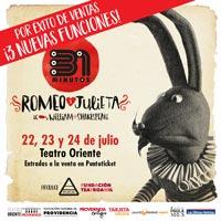 31 Minutos Teatro Oriente - Providencia