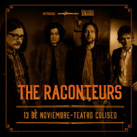 The Raconteurs Teatro Coliseo - Santiago