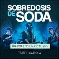 Sobredosis de Soda Teatro Cariola - Santiago