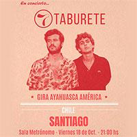 Taburete Sala Metrónomo - Santiago