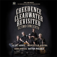 Creedence Clearwater Revisited Movistar Arena - Santiago