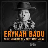 Erykah Badu Movistar Arena - Santiago