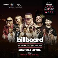 Billboard Latin Music Showcase Chile Movistar Arena - Santiago