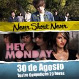 Never Shout Never / Hey Monday Teatro Caupolicán - Santiago