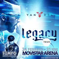 Yandel Movistar Arena - Santiago