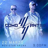Wisin & Yandel Movistar Arena - Santiago