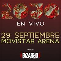 Rojo en Vivo! Movistar Arena - Santiago