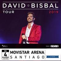 David Bisbal Movistar Arena - Santiago