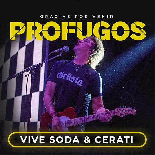 Profugos Movistar Arena - Santiago