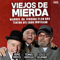 Viejos de Mierda Teatro del Lago, Frutillar - Frutillar