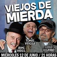 Viejos de Mierda Teatro Regional de Rancagua - Rancagua