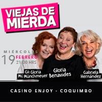 Viejas de Mierda Enjoy Coquimbo - Coquimbo