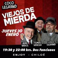 Viejos de Mierda Enjoy Chiloé - Castro