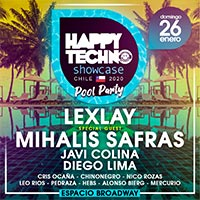 Happy Techno Showcase 2020 Jardines Espacio Broadway - Pudahuel