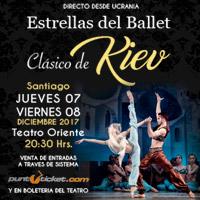 Estrellas del ballet clásico de KIEV Teatro Oriente. - Providencia