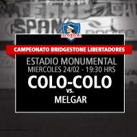 Colo-Colo vs. Melgar Estadio Monumental - Macul