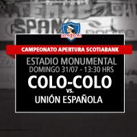 Colo-Colo vs. Unión Española Estadio Monumental - Macul