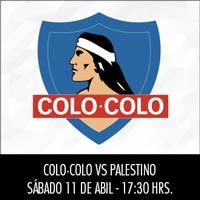 Colo-Colo vs. Palestino Estadio Monumental - Macul