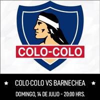 Colo-Colo vs. Barnechea Estadio Monumental - Macul