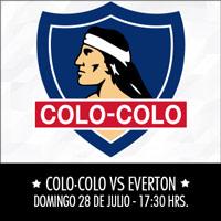Colo-Colo vs. Everton Estadio Monumental - Macul