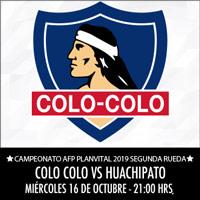 Colo-Colo vs. Huachipato Estadio Monumental - Macul