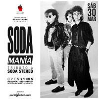 Tributo Soda Estereo Club Eve - Vitacura