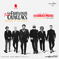 Tributo a Los Fabulosos Cadillacs Club Eve - Vitacura