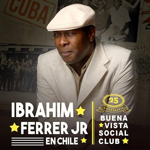 Ibrahim Ferrer en Chile Aula Magna - CEINA - Santiago