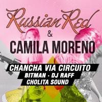 Russian Red & Camila Moreno Teatro Italia - Bilbao 265, Providencia - Providencia