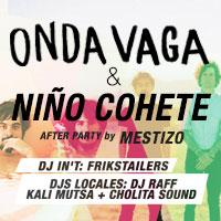 Onda Vaga & Niño Cohete Teatro Italia - Bilbao 265, Providencia - Providencia
