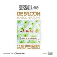 10 Años Abrázame De Saloon Centro Cultural Teatro La Cúpula - Santiago