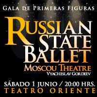 Russian State Ballet del Teatro de Moscú En una Gala Teatro Oriente - Providencia