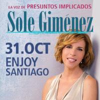 Sole Gimenez (Presuntos Implicados) Enjoy Santiago - Los Andes
