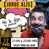 Jorge Alís Enjoy Viña del Mar - Viña del Mar