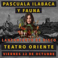 Pascuala Ilabaca y Fauna Teatro Oriente - Providencia