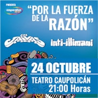 Por la fuerza de la razón Teatro Caupolicán - Santiago