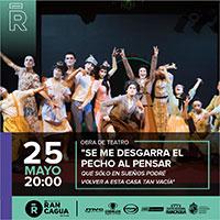 Se me desgarra el pecho Teatro Regional de Rancagua - Rancagua