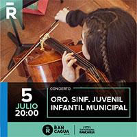 Concierto Orquesta Sinfónica Juvenil e infantil de Rancagua Teatro Regional de Rancagua - Rancagua