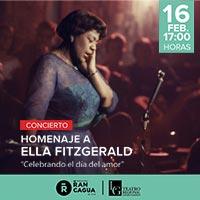 Concierto Homenaje a Ella Fitzgerald Teatro Regional de Rancagua - Rancagua