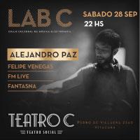 Alejandro Paz Teatro C - Vitacura