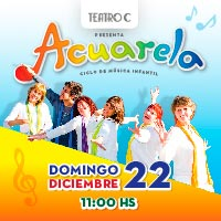 Acuarela Teatro C - Vitacura