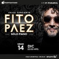 Fito Páez Enjoy Santiago - Los Andes